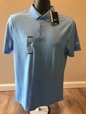 Nike 725518 Victory Solid Polo Mens Golf Shirt - University Blue Small