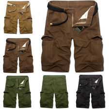 New Men's Military Casual Pants Baggy Shorts Pockets Cargo Short Pants Trousers