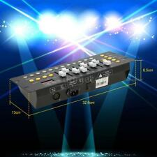 Mini 192 CH DMX Controller Console Stage Lighting Operator Equipment Party B2E7