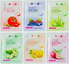 12 x Watsons Moisturizing Facial Mask Whitening Radiant Antioxidant Refreshing