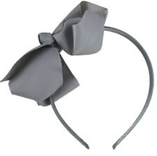 Gorgeous Large Ribbed Bow Hair band Fascinator Thin Satin Aliceband Headband