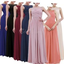 Women Long Evening Dress Formal Cocktail Wedding Bridesmaid Party Prom Gown Maxi