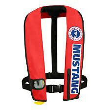 Mustang Survival Deluxe Automatic Inflatable PFD Bass Competition Version