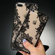Lace Floral Phone Cases For iPhone 7 6 6s Plus & Samsung