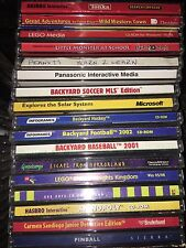 PC Children Educational & Fun Games Various for Windows, Mac, MS-DOS (Pick One)