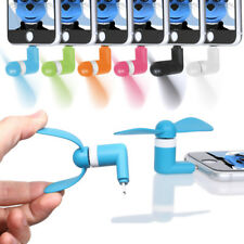 Mini Fan with Micro USB and IOS Connector For Yarvik TAB275 GoTab Ion Tablet