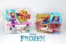 Disney Frozen Party bags & Boxes fillers pre made. 9 items. birthday kit. Haribo
