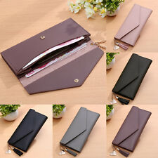 Chic Women Lady Clutch Long Purse Leather Wallet Card Holder Handbag Phone Bag