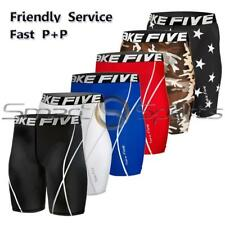 Take Five Mens Compression Baselayer Gym Gear Short Pants Shorts Soccer Baseball