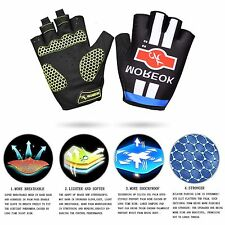 [Professional]Breathable Cycling Bike Road Racing Bicycle Gloves in Lycra Fabric