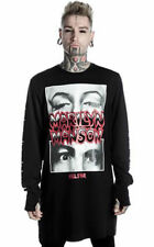 Killstar Marilyn Manson Collab This Is Your World Unisex Graphic T-shirt
