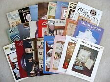 Counted Cross Stitch Pattern Instruction Leaflets - You Choose