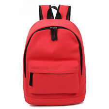 School Travel Backpack Women Men S Canvas Book Rucksack Sport Bag Shoulder Bags