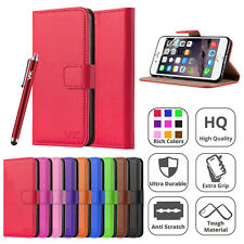 Magnetic Flip Case Leather Wallet Cover For Apple iPhone 6s 5s 4s SE 5 6 7 Plus