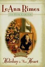 Holiday in Your Heart by Leann Rimes and Tom Carter (1997, Hardcover)