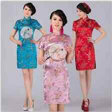 New Chinese Style embroider women's Dress/Cheong-sam Size:S.M.L.XL.XXL.3XL.4XL.5