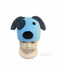 Crochet Newborn baby boy girl Puppy Hat,Photography Prop,baby dog hat Photo phop