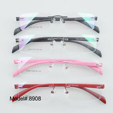 8908 Unisex rimless very light TR eyeglasses frame RX optical eyewear
