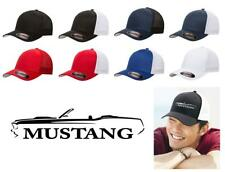 1969 Ford Mustang Convertible Classic Car Color Outline Design Hat Cap