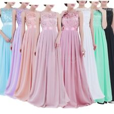 Women Long Evening Party Dress Cocktail Bridesmaid Ball Gown Prom Maxi Dresses