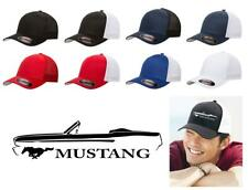 1965 1966 Ford Mustang Convertible Classic Car Color Outline Design Hat Cap
