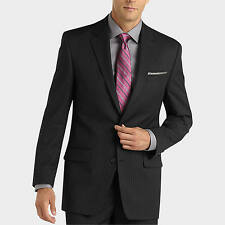 Brand New Pinstripe All Sizes Mens 2 Button Notch Lapel GREAT Slim Fit Suit