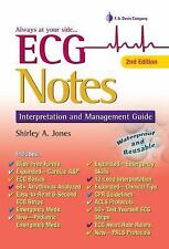 ECG Notes: Interpretation and Management Guide by Jones and Shirley A. Jones...