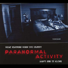 Paranormal Activity 1,2,3,4 (Unrated Blu-ray,DVD, Alternate Ending) Horror