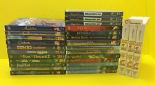 Authentic Disney DVD Movies LOT - CHOOSE INDIVIDUAL TITLE / MOVIE
