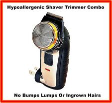 HYPOALLERGENIC PERSONAL PUBIC SHAVER AND TRIMMER HAIR REMOVAL RAZOR MENS LADIES
