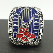 2013 Boston Red Sox World Series Championship Ring 11Size Solid Back