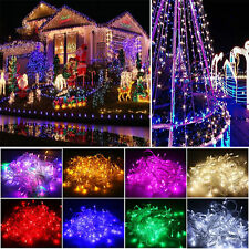 10M-100M 100-1000 LED Bulbs Xmas Fairy Party String Lights Decor Lamp Waterproof