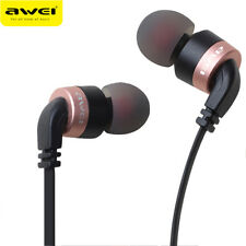 Awei Full Metal Earphones Stereo Super Bass Headset Headphone For Phone With Mic