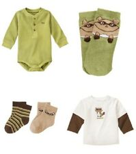 Gymboree Baby Racoon Bodysuit Shirt Socks NWT Choice