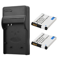 2x NB8L Battery For Canon PowerShot A3300 A3200 A3100 A3000 A2200 With Charger