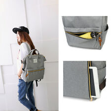 1 Pcs Women simple shopping pack Student school backpack Canvas bookbags