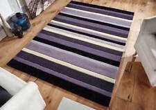 Modern RUG  STRIPES 100%  Wool  Contemporary Design  RUG  S -M  Size NOW ON SALE