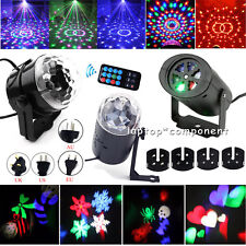 Mini RGB LED Laser Projector DJ Disco Bar Stage Lighting Light Xmas Party Lamp