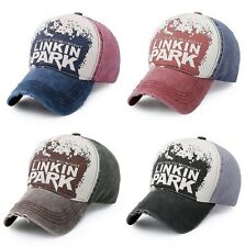 2017 New Men's Women's Baseball Cap Unisex Linkin Park Adjustable Hip Hop Hat