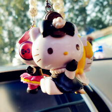 Fashion Hello Kitty Ladies Small Figures Car Rear View Mirror Hang Decorations