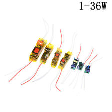 1-36W LED Driver Input AC100-265V Power Supply Constant Current for DIY LED 0A