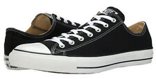 Converse Chuck Taylor All Star OX Low Tops Black All Sizes Mens Sneakers Shoes