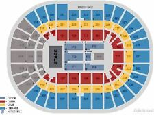 Ed Sheeran - FLOOR SEATS CENTER STAGE - Nationwide Arena - Columbus OH - 10/4/17