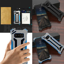 Shockproof R-just Gundam Metal Armor Bumper Case Cover for Samsung Galaxy Note 8