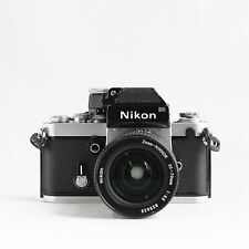 Nikon F2 35mm pro-SLR camera with Nikkor 35-70 f/3.5 ai-s (with 6 months warrant