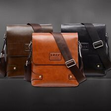 Men Business Leather Handbag Briefcase Crossbody Messenger Shoulder Bag Satchel