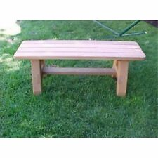 Wood Country Classic Cedar Backless Bench