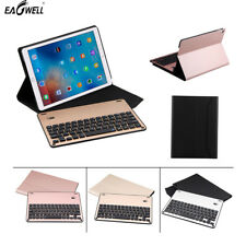 Removable Aluminum Alloy Bluetooth Keyboard PU Leather Case Cover For Apple ipad