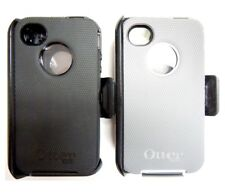 Original OtterBox Apple iPhone 4 4S Defender Series Shell Case+Holster Blet Clip