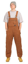 Mens Insulated Bib Overalls - Traditional Winter workwear Overalls Builersuit